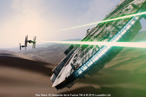 Película: Star Wars: El Despertar de la Fuerza
