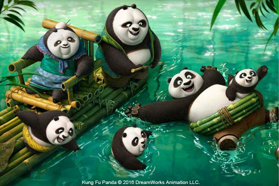 Película: Kung Fu Panda 3