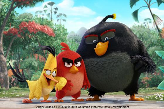 Película: Angry Birds La Película