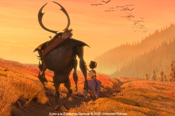 Película: Kubo y la Búsqueda Samurai