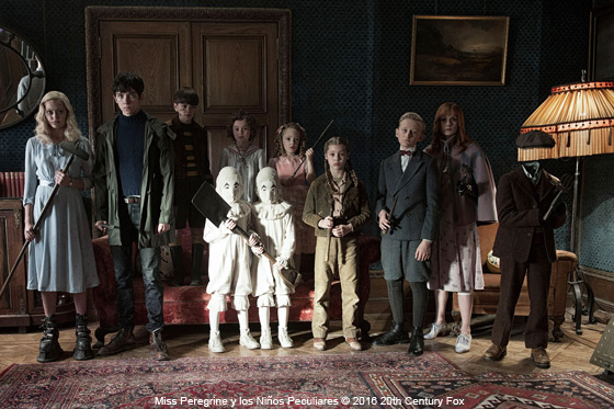 Película: Miss Peregrine y los Niños Peculiares