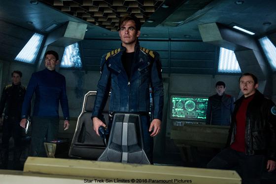 Blu-ray / DVD: Star Trek Sin Límites