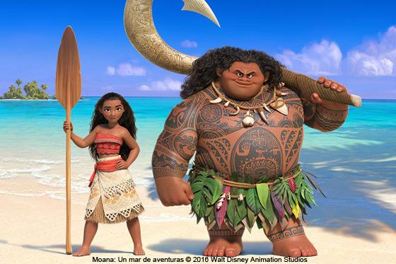 Película: Moana: Un mar de aventuras