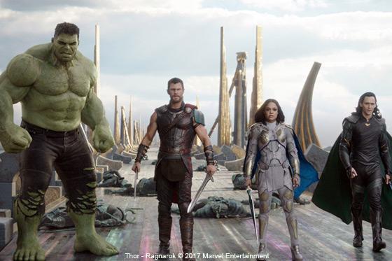 Película: Thor - Ragnarok